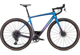 Bicicleta SPECIALIZED S-Works Diverge - SRAM eTap AXS - Gloss Chameleon-Sunset Chameleon Fade/Holographic Black Clean 56