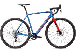 Bicicleta SPECIALIZED Crux Elite - Gloss Chameleon/Rocket Red/Black 49