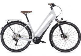 Bicicleta SPECIALIZED Turbo Como 4.0 700C - Low-Entry - Gloss Dove Grey/Cast Blue/Black S