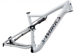 Cadru SPECIALIZED S-Works Epic - Gloss White Prismaflair/Black Holographic Reflective L
