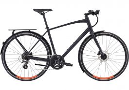 Bicicleta SPECIALIZED Men's Sirrus EQ - Black Top LTD - Satin Cast Black/Rocket Red M