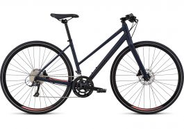 Bicicleta SPECIALIZED Sirrus Sport Step-Through - Women's Spec - Cast Blue/Acid Lava L