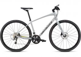 Bicicleta SPECIALIZED Sirrus Elite Alloy - Women's Spec - Filthy White/Limon/Acid Mint M