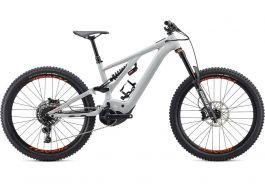 Bicicleta SPECIALIZED Kenevo Comp - Gloss Dove Grey/Rocket Red S3