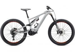 Bicicleta SPECIALIZED Kenevo Comp - Gloss Dove Grey/Rocket Red S4