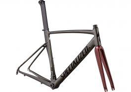 Cadru SPECIALIZED Allez Sprint - Polished Chrome Black/Black/Crimson Metallic 49
