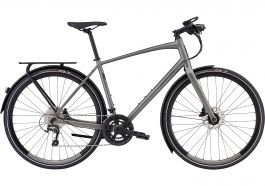 Bicicleta SPECIALIZED Men's Sirrus Elite EQ - Black Top LTD - Satin Sterling Grey/Black XXL