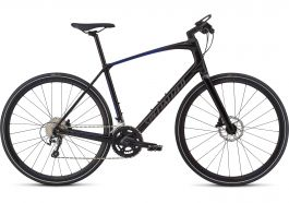 Bicicleta SPECIALIZED Sirrus Elite Carbon - Men's Spec - Tarmac Black/Rocket Red-Acid Blue Fade/Charcoal Reflective XL