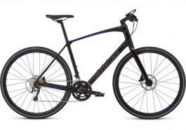 Bicicleta SPECIALIZED Sirrus Elite Carbon - Men's Spec - Tarmac Black/Rocket Red-Acid Blue Fade/Charcoal Reflective S