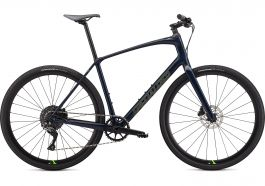 Bicicleta SPECIALIZED Sirrus X 5.0 - Cast Blue/Hyper/Satin Black Reflective M