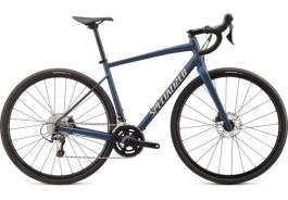Bicicleta SPECIALIZED Diverge Elite E5 - Satin Navy/White Mountains Clean 48