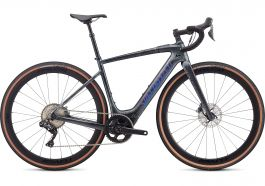Bicicleta SPECIALIZED Turbo Creo SL Expert EVO - Black Granite/Green Blue Chameleon S