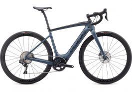 Bicicleta SPECIALIZED Turbo Creo SL Expert - Cast Battleship/Black/Raw Carbon M