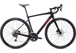 Bicicleta SPECIALIZED Diverge Sport - Gloss Carbon/Rocket Red-Crimson Camo 52