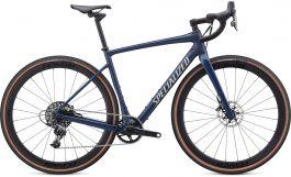 Bicicleta SPECIALIZED Diverge Expert X1 - Satin Navy/White Mountains Clean 58