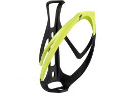 Suport bidon SPECIALIZED Rib Cage II - Matte Black/Hyper Green