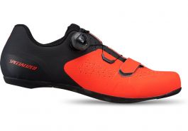Pantofi ciclism SPECIALIZED Torch 2.0 Road - Rocket Red/Black 43.5