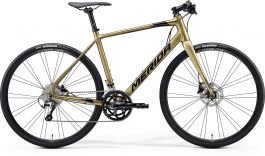 Bicicleta MERIDA Speeder 300 XL Gold|Negru 2020
