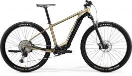 Bicicleta Electrica MERIDA eBig.Nine 700 S38 Gold|Negru 2020