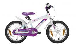 Bicicleta Conway MS16 16'' alb/lila 230mm