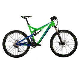 Bicicleta CORRATEC Inside Link 120 Z Verde / Albastru 470mm