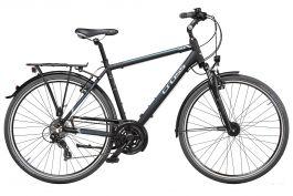 "Bicicleta CROSS Areal Man Trekking 28"" Negru/Albastru 560mm"