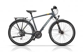 "Bicicleta CROSS Avalon Man Trekking 28"" Gri/Alb 480mm"
