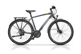 "Bicicleta CROSS Avalon Man Trekking 28"" Gri/Alb 520mm"
