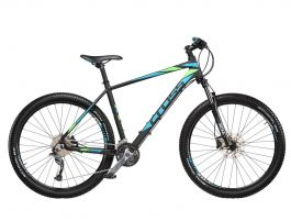"Bicicleta CROSS Fusion Man 29"" Negru/Albastru/Verde 540mm"