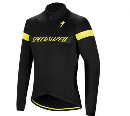 Jacheta ciclism SPECIALIZED Element RBX Sport Logo Jacket Black/Yellow L