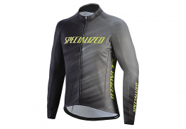 Jacheta SPECIALIZED Therminal RBX Comp Logo Faze Jersey LS - Grey/Black Faze S