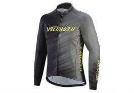 Jacheta SPECIALIZED Therminal RBX Comp Logo Faze Jersey LS - Grey/Black Faze L