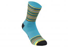 Sosete SPECIALIZED Full Stripe - Nice Blue/Black/Yellow S