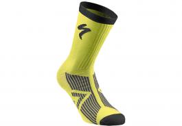 Sosete SPECIALIZED SL Elite Winter - Neon Yellow/Black XL
