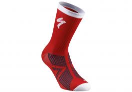 Sosete SPECIALIZED SL Elite Winter - Red/White M