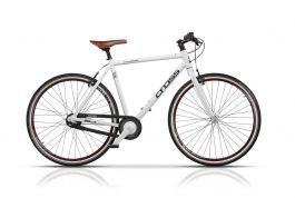 "Bicicleta CROSS Spria Urban 28"" Alb 530mm"