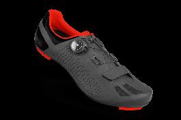 Pantofi ciclism FLR F-11 Pro Road - Negru/Rosu 46