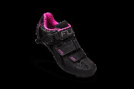 Pantofi ciclism FLR F-15 III Pro Road - Negru/Roz 36