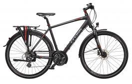 Bicicleta CROSS Travel Man Trekking 28'' Negru/Rosu 520mm