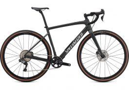 Bicicleta SPECIALIZED Diverge Expert Carbon  - Satin Oak Green Metallic/Gloss White/Chrome/Clean 54