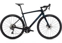 Bicicleta SPECIALIZED Diverge Sport Carbon - Gloss Forest Green/Ice Papaya/Chrome/Wild Ferns 52