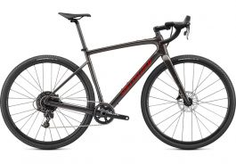 Bicicleta SPECIALIZED Diverge Base Carbon - Gloss Smoke/Redwood/Chrome/Clean 52