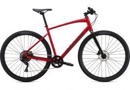 Bicicleta SPECIALIZED Sirrus X 2.0 - Flo Red W/Blue Ghost Pearl/Black/Satin Black L