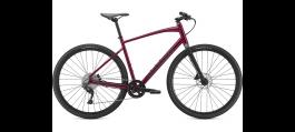 Bicicleta SPECIALIZED Sirrus X 3.0 - Gloss Raspberry/Tarmac Black/Satin Black Reflective - M