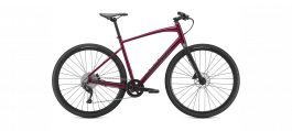 Bicicleta SPECIALIZED Sirrus X 3.0 - Gloss Raspberry/Tarmac Black/Satin Black Reflective - XL