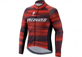 Jacheta SPECIALIZED Therminal SL Team Expert LS - Black/Red XL