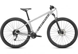 Bicicleta SPECIALIZED Rockhopper Comp 27.5 2x - Gloss Metallic White Silver/Satin Black XS