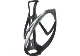 Suport bidon SPECIALIZED Rib Cage II - Mate Black/Liquid Silver