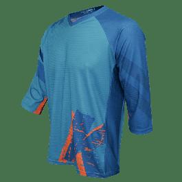 Bluza FUNKIER Dolomiti Enduro - Verde/Portocaliu M