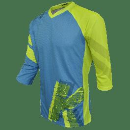 Bluza FUNKIER Dolomiti Enduro - Bleu/Galben S